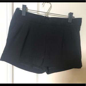 Express Women Casual Black Shorts- Size 0